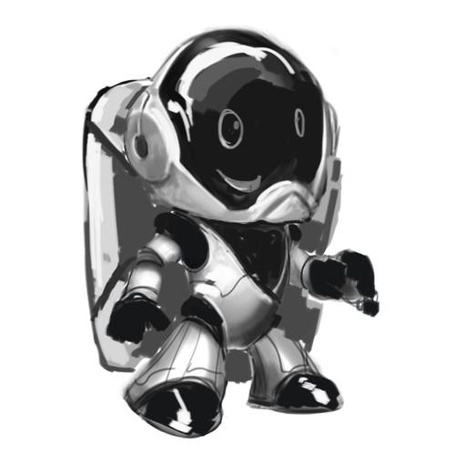 Аstronaut mascot
