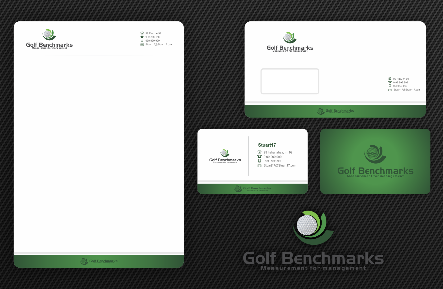 Help Golf Benchmarks with a new logo