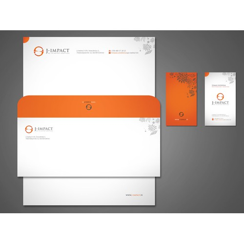 Create the next stationery for J-Impact Oy