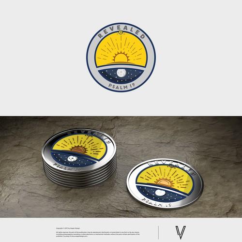 University coin design
