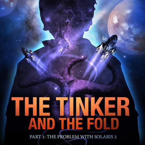 Book cover for a scifi novel