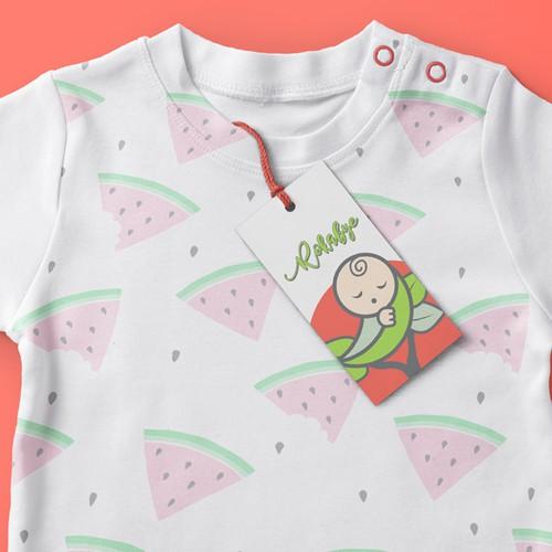 Rokabye Baby Clothing design winner