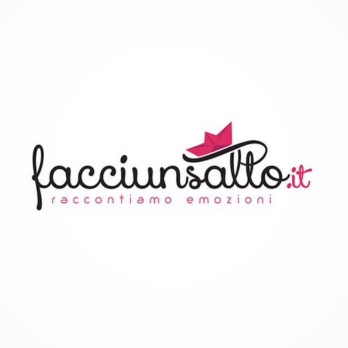 facciunsalto.it web magazine logo redesign for the upcoming launch of its paper version