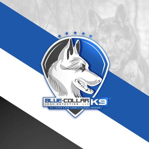 Logo Blue Collar K9