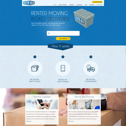 Brutebox Website Pae
