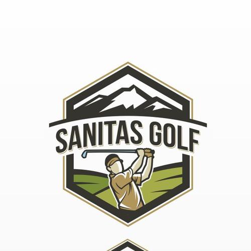 Sanitas Golf Logo