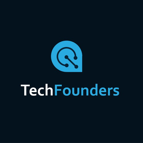 LOGO FOR TECHFOUNDERS AN ACCELERATOR PROGRAM FOR TECH STARTUPS