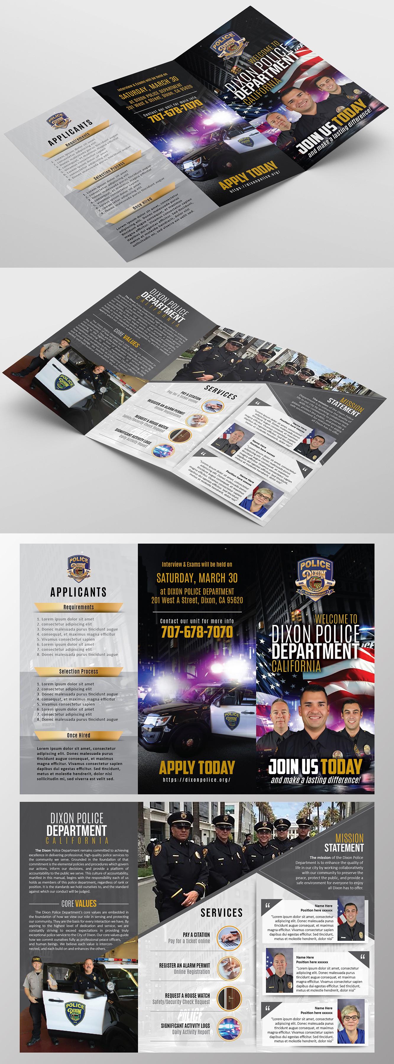 Dixon Police Recruitment Brochure