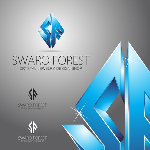 logo for Jewelry shop SWARO FOREST