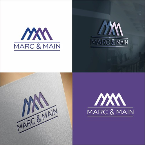 logo for marc and main