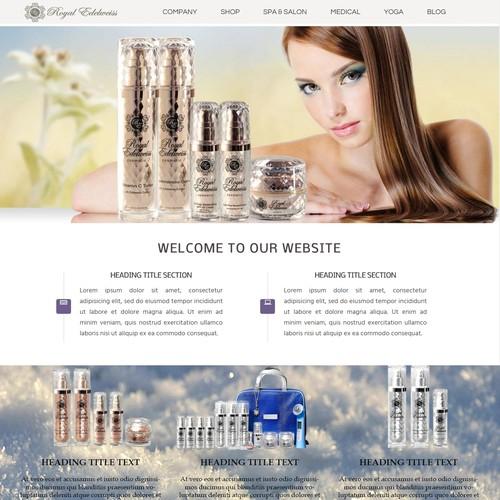WEB SITE DESIGN - Royal Edelweiss