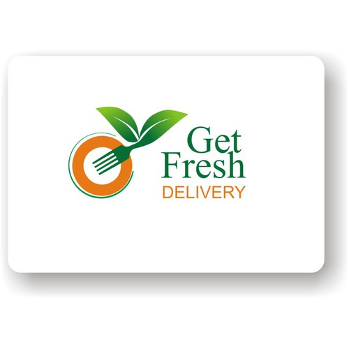 A unique logo for Get Fresh Delivery