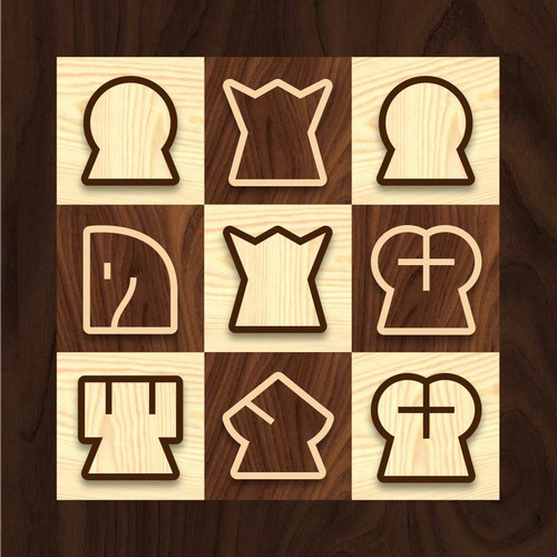 revised more estetic vertical chess