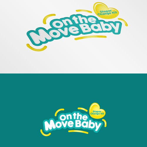 Logo for On the Move Baby