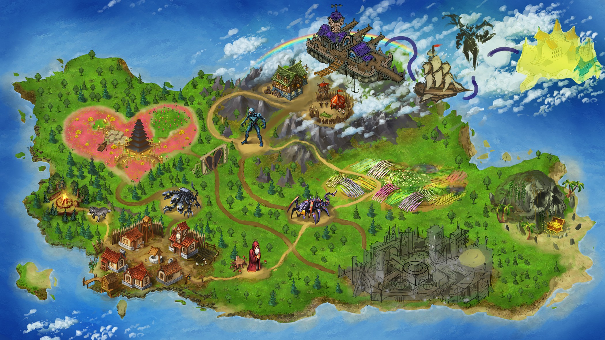 Epic Map for Heros eLearning Journey