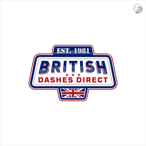 Classic logo for auto company in UK