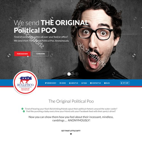 THE ORIGINAL Political Poo - StartUp