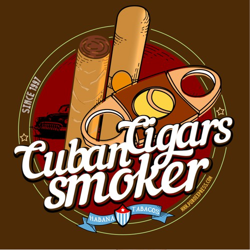 Cuban Cigars T-Shirt design