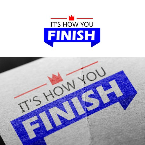 Logo - It's How You FINISH