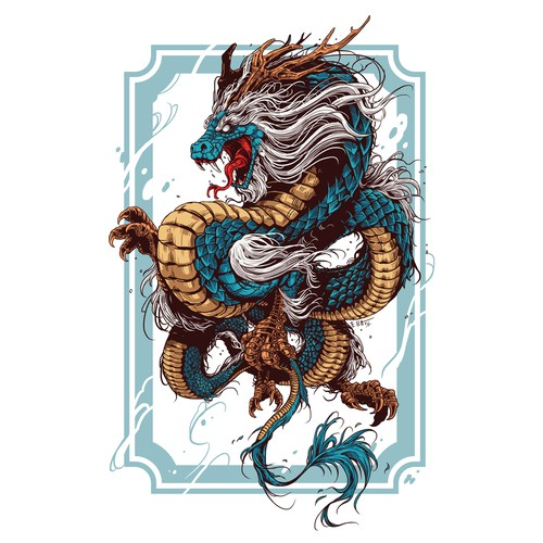 High End Fantasy Dragon & Snake Design