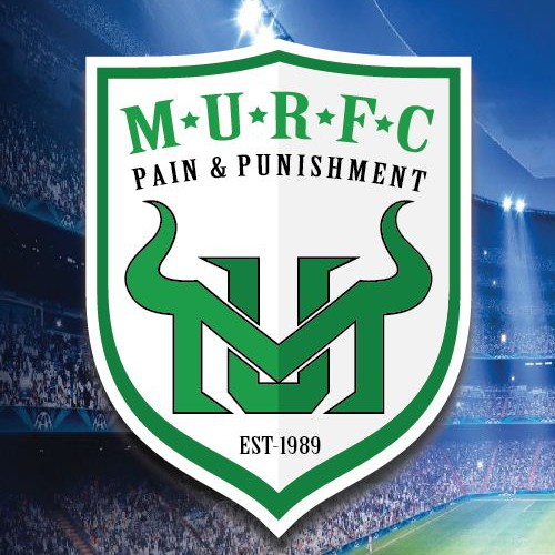 Create a rugby crest for the Marshall University Rugby Football Club