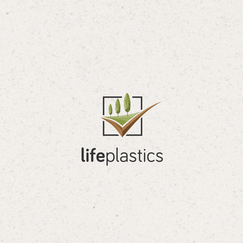 Modern & fresh logo for Engineering plastic business