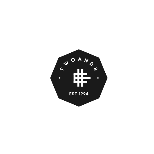 Bold Logo concept for TwoAnd8