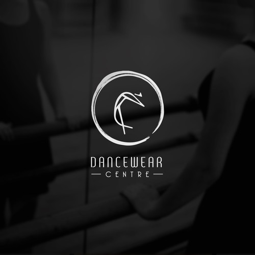 Whimsical yet abstract Logo concept for Dancewear