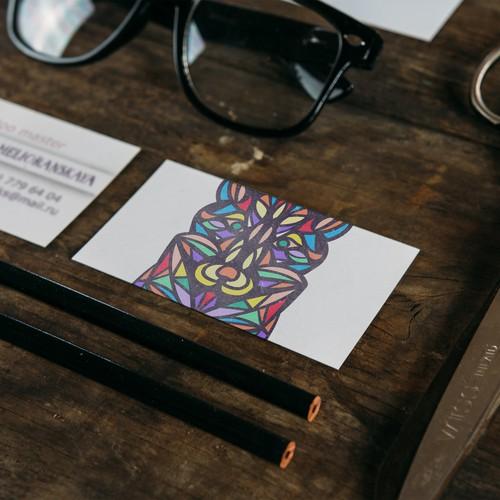 Business card tattoo artist