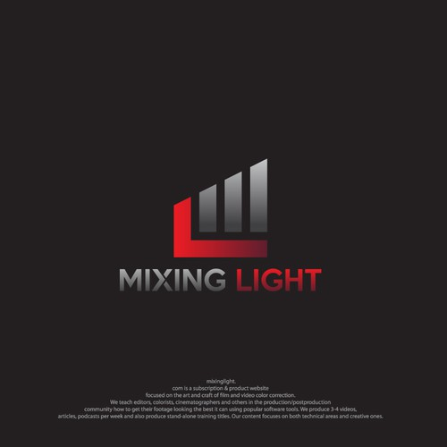 MixingLight.com : New Logo For Video Color Correction Training Site