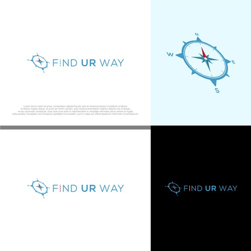 Unique compass design for Find Your Way