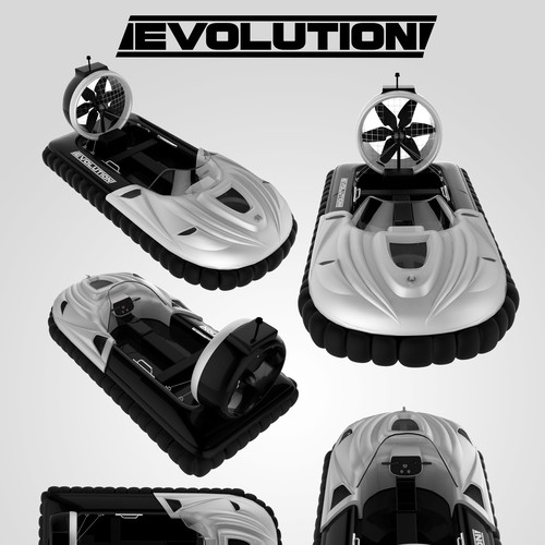 """Evolution"" Hoverboat design"