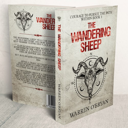 The Wandering Sheep - Book Cover