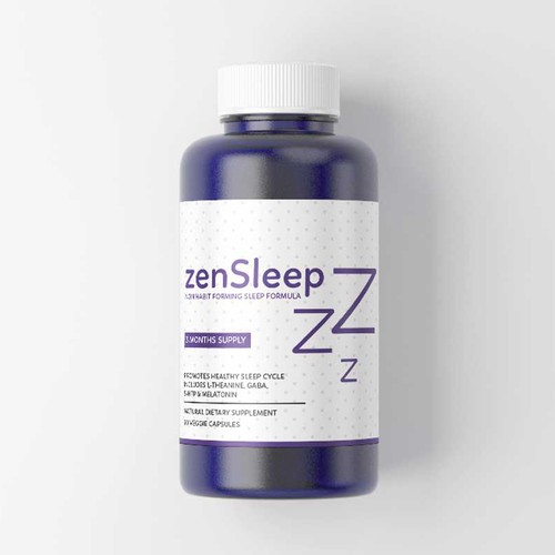 Label Design for Brain Supplement Company