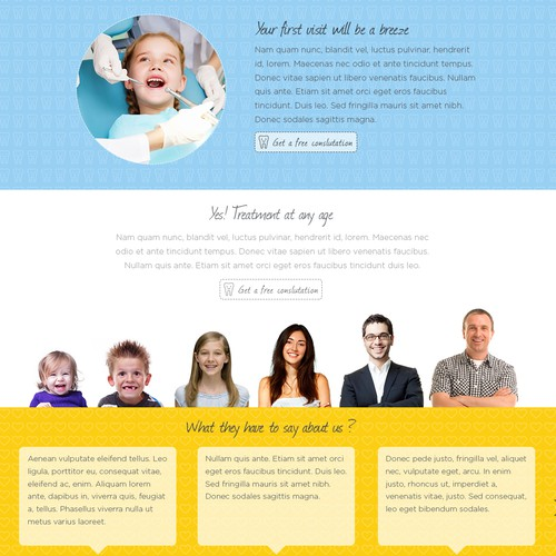 SmileBrite Website Concept