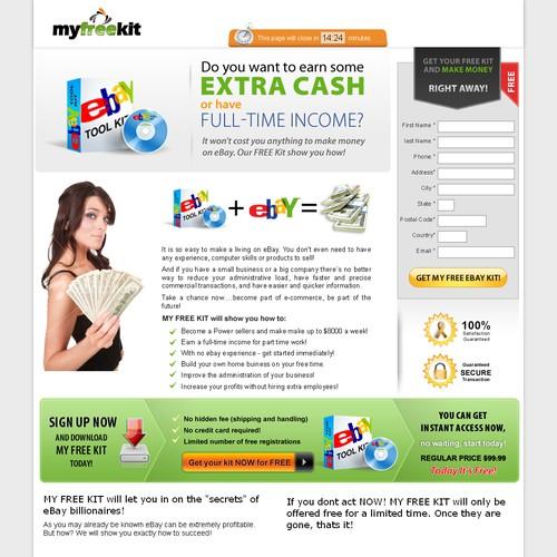 eBay Home Based Opportunity Website (Direct Response)