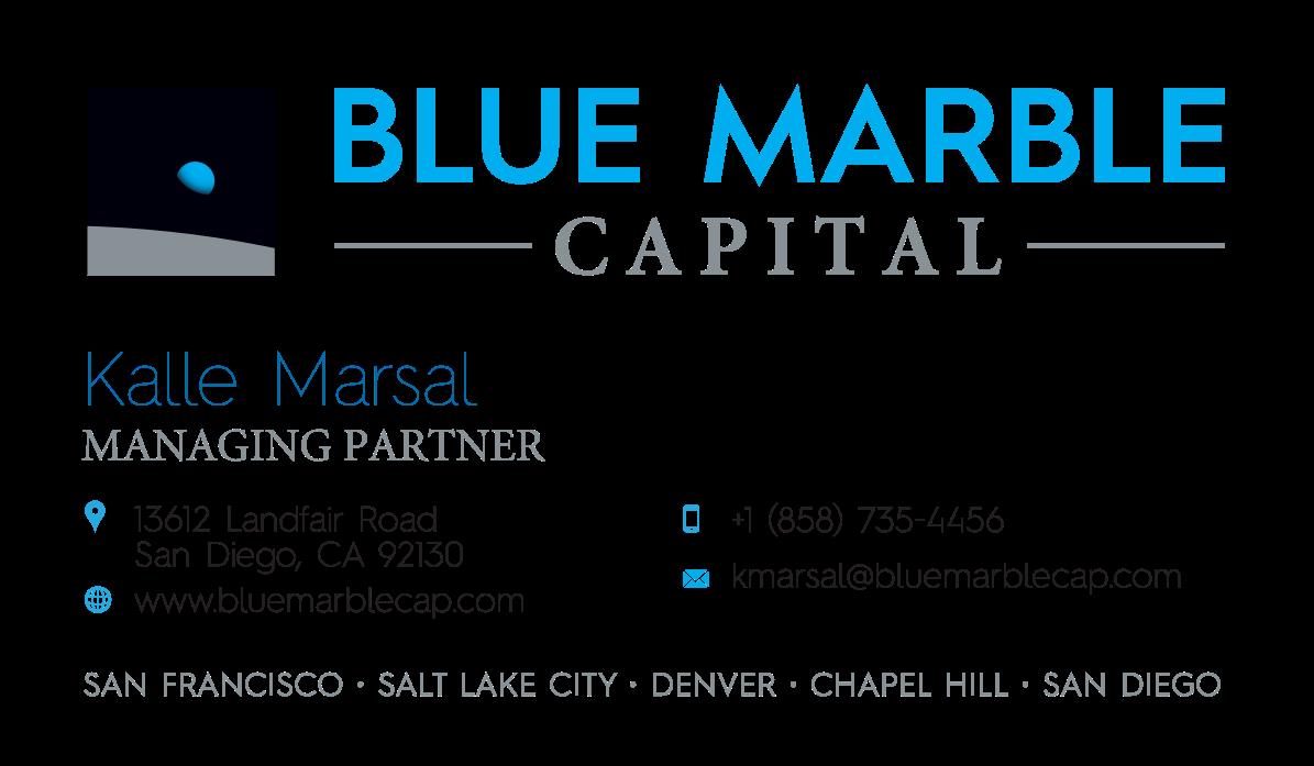 Blue Marble Capital - followon