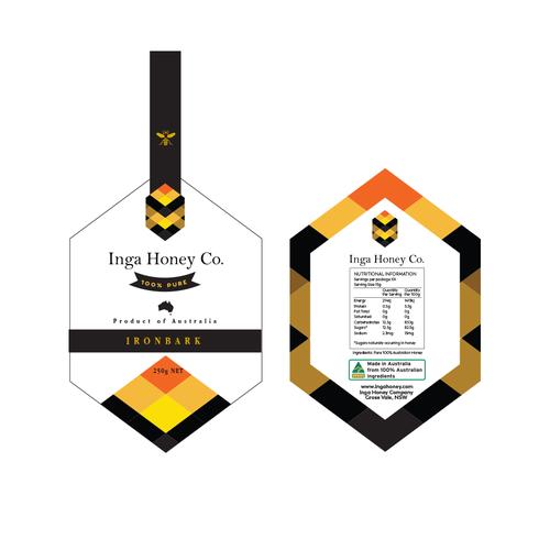 Honey Label Design