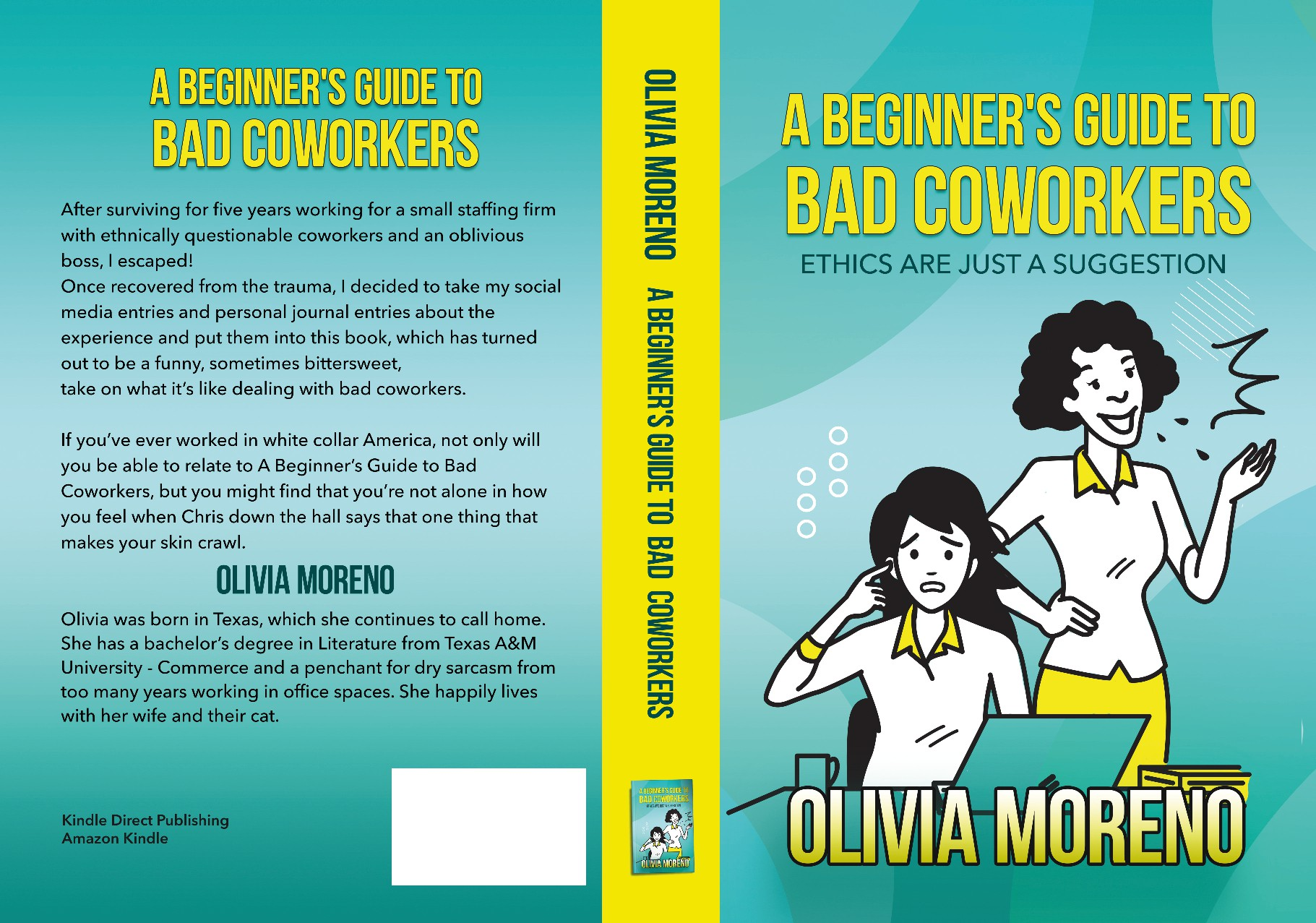Bookcover for Comedic Book about Bad Coworkers