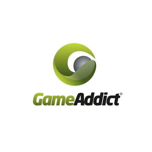 logo for game addict