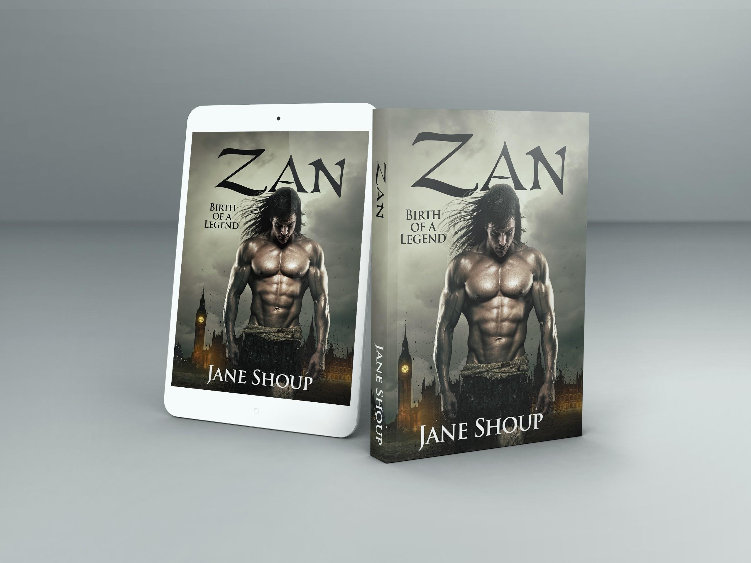 Book cover for Zan, the true story of Tarzan ...