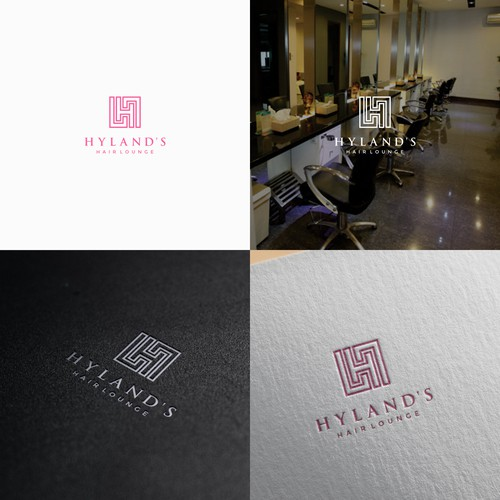 High end Hairstylist looking for a classy yet catchy logo for my hair lounge