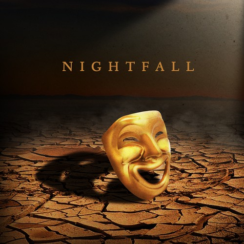 "Eye Catching Cover Art for Music Album called ""Nightfall"""