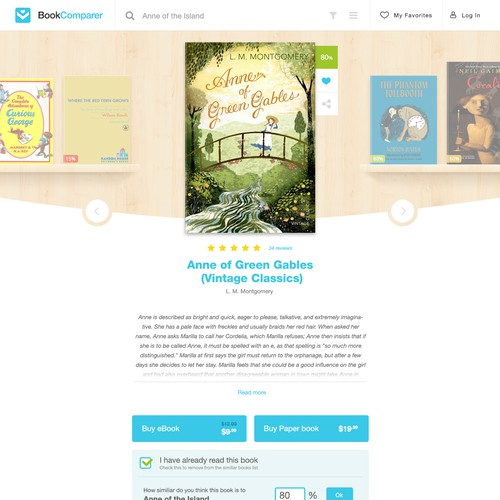 The best book website on the web - and you will design it!