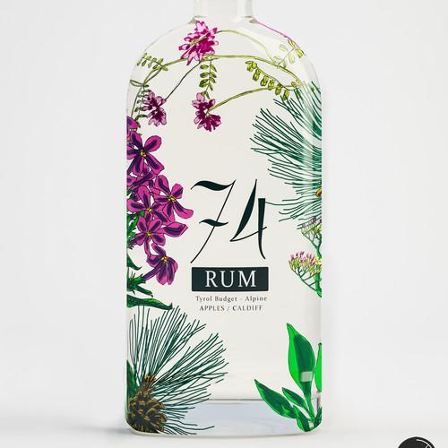 Premium Rum design