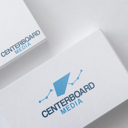 Startup Logo Design for CENTERBOARD MEDIA