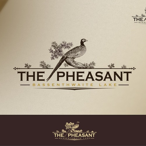 Help The Pheasant with a new logo