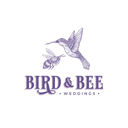 Vintage Logo for Wedding Co.