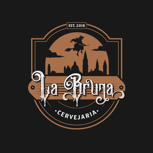 La Bruja Brewery logo proposal