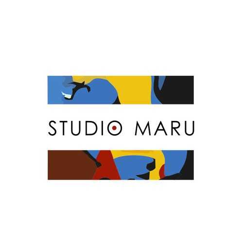 Create a modern and timelessly stylish logo for Studio Maru gallery and picture framers